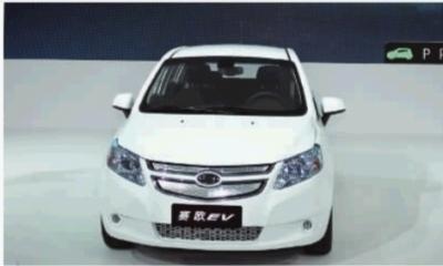 上海通用汽车旗下首款国产新能源产品——赛欧springo纯