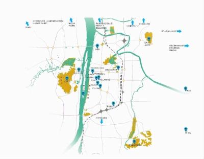 西湖旅游规划 分析图