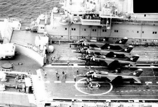 一次超重飞机的强行起飞 br/> 让苏联太平洋舰队遭之