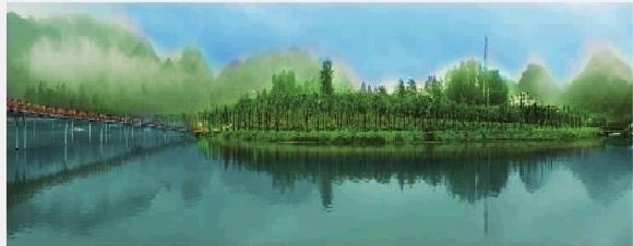 滇黔桂四省接合部云贵高原乌蒙山腹地的六盘水是长江上游和珠江上