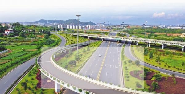 2008年,规划设计株洲市湘江风光带河东段绿化景观工程 株洲市中心