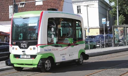 无人驾驶公共汽车高清图片