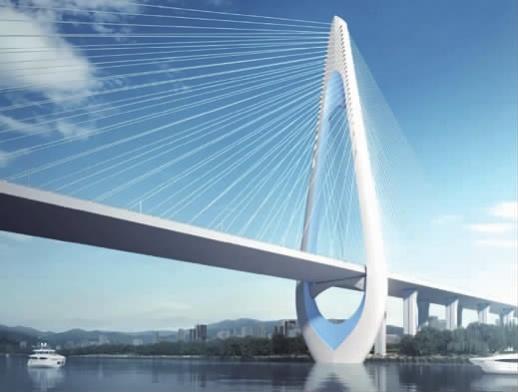 """长沙香炉洲大桥定建""""钻石宝塔"""""""