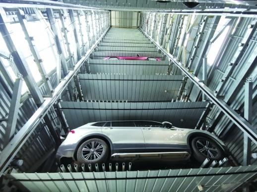 超过半数的驾驶员表示不太愿意把车停进立体停车场
